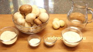 Ингредиенты Грибной соус к картофельным блюдам