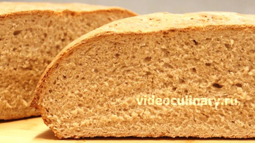 Хлеб для начинающих с цельной (цельнозерновой) мукой