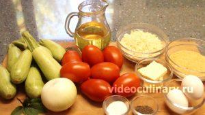 Ингредиенты Кабачки по-крестьянски