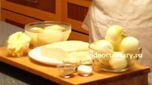Ингредиенты Картофельный пирог из слоеного теста