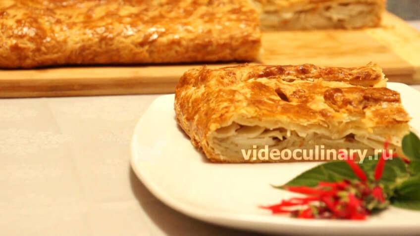 рецепты пирога с мясом и картошкой пошаговый рецепт