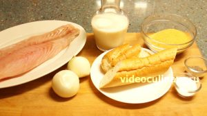 Ингредиенты Рыбные котлеты