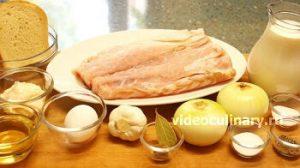 Ингредиенты Котлеты из рыбы, запеченные в духовке