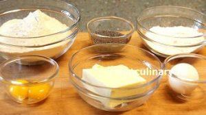 Ингредиенты Крендельки песочные с маком