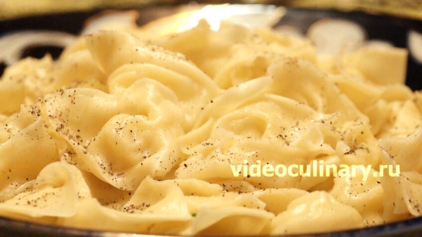 Пельмени с картофелем (Картошкали чучвара)