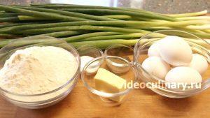 Ингредиенты Пельмени с зелёным луком (Кук пиёзли чучвара)