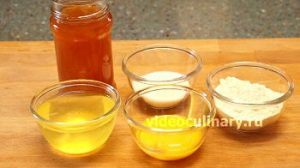 Ингредиенты Рулет бисквитно – фруктовый