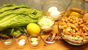 Ингредиенты Салат Цезарь