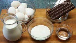 Ингредиенты Шоколадное мороженое парфе