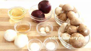 Ингредиенты Свекольный салат с грибами