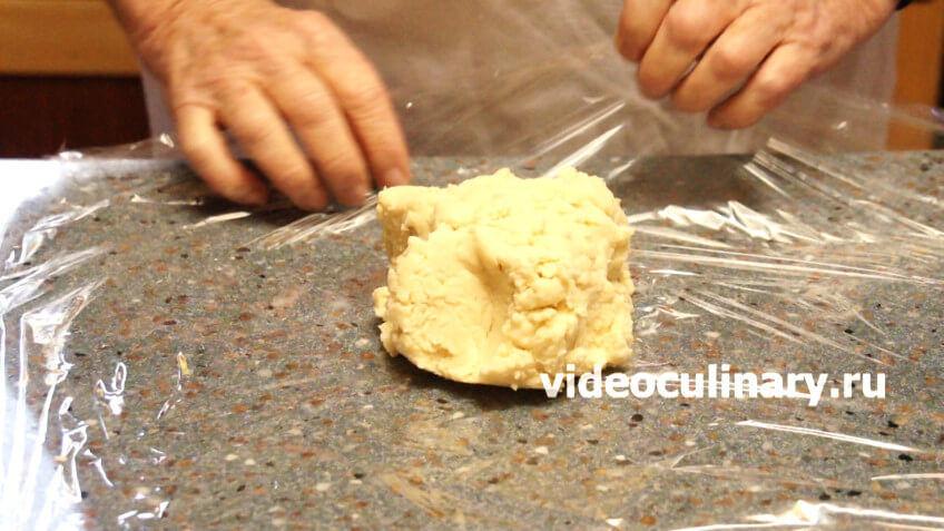 Песочное тесто на раз-два-три