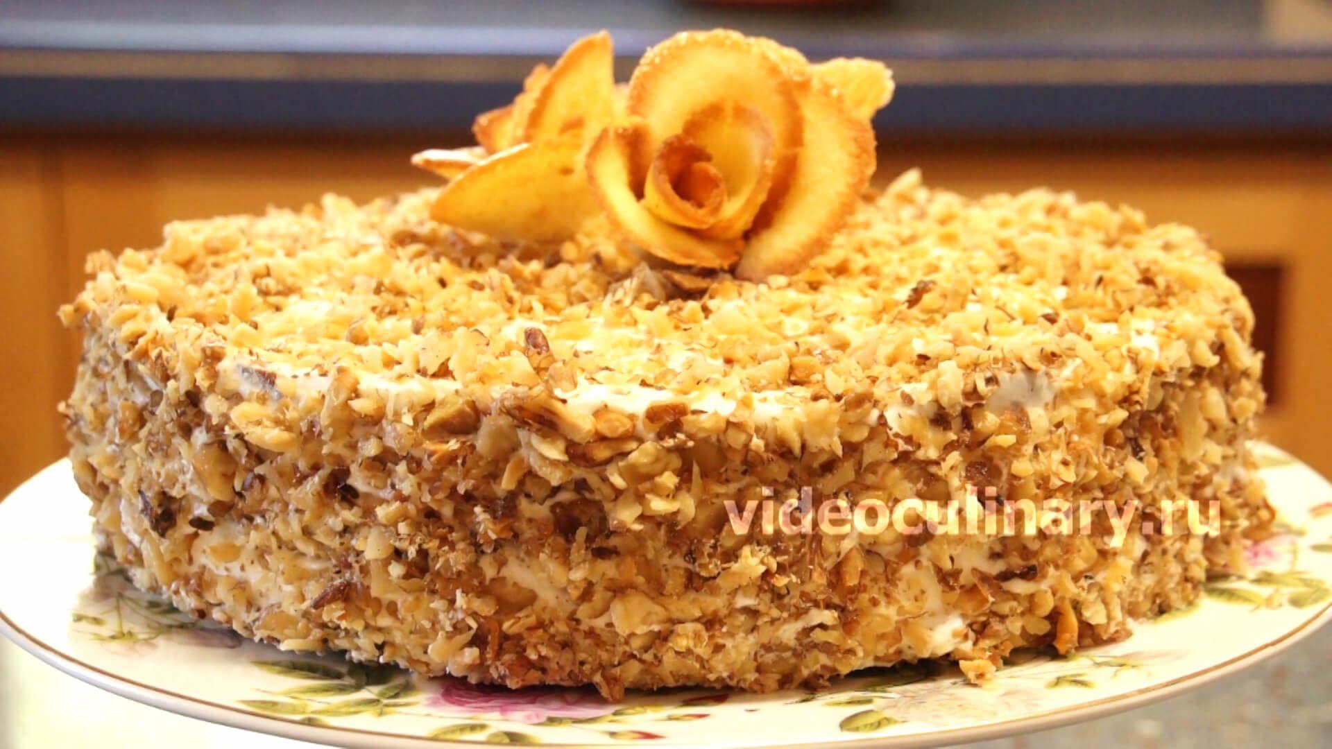 Торт анечка рецепт с фото пошагово в домашних условиях