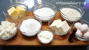 Ингредиенты Торт Лёгкий с творожным кремом