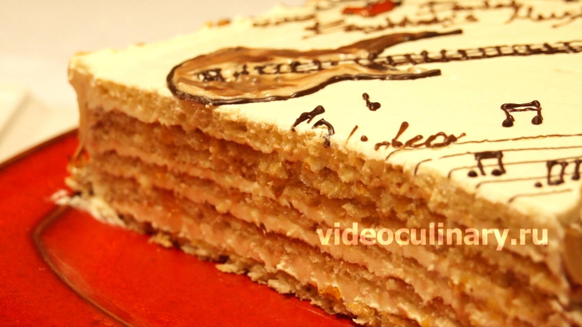 Торт Музыкальная шкатулка