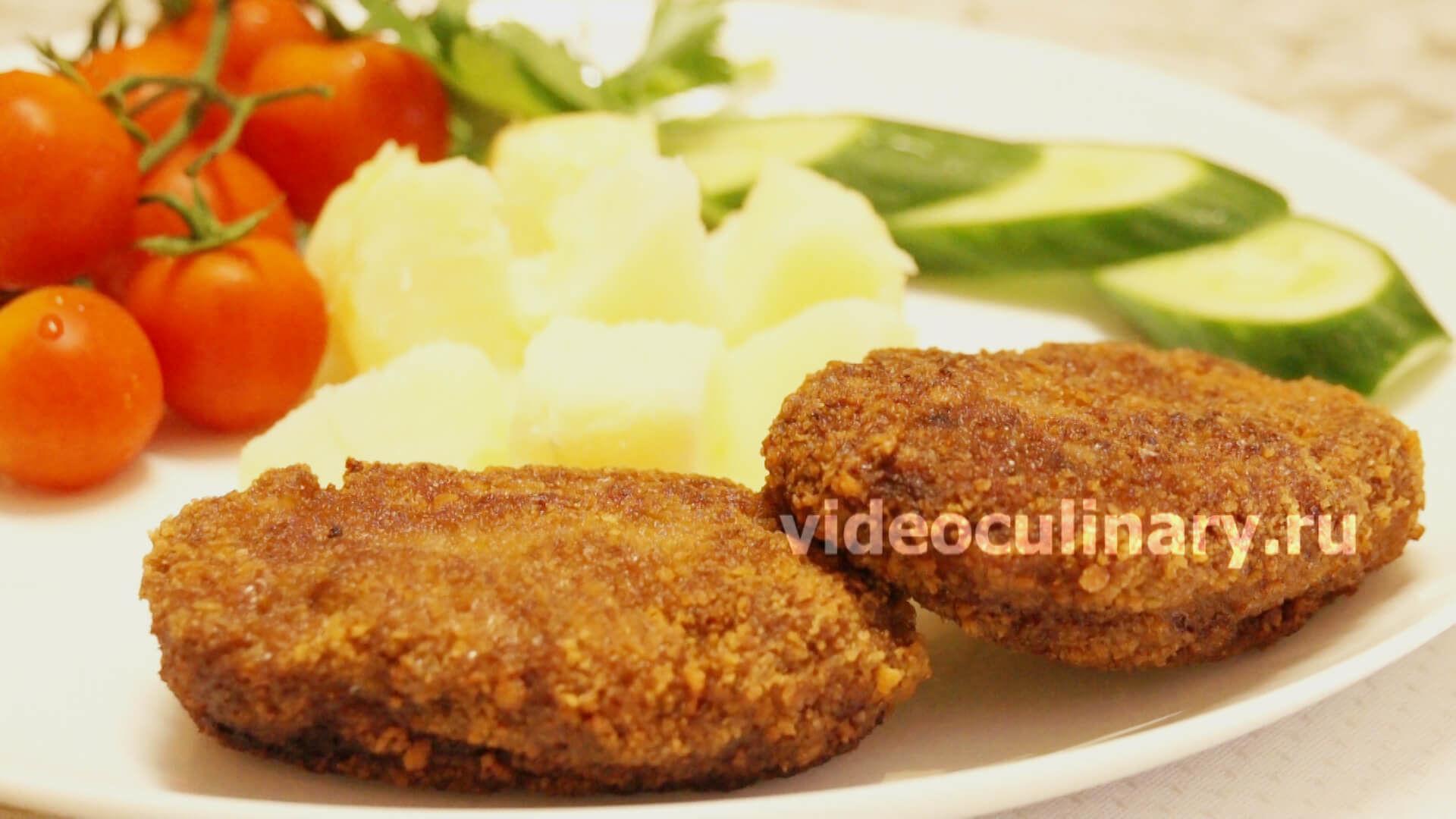 Зразы мясные рубленые