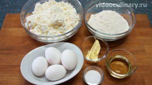 Ингредиенты Ленивые вареники с творогом