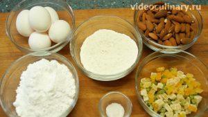 Ингредиенты Печенье из белкового теста Лакомка