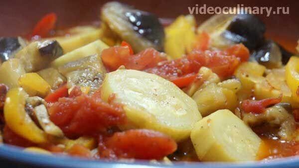 Рататулли – овощное рагу по-провансальски