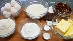 Ингредиенты Торт Белочка