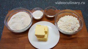 Ингредиенты Творожное печенье