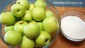 Ингредиенты Яблочный компот