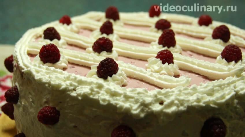 Торт Малиновый хит