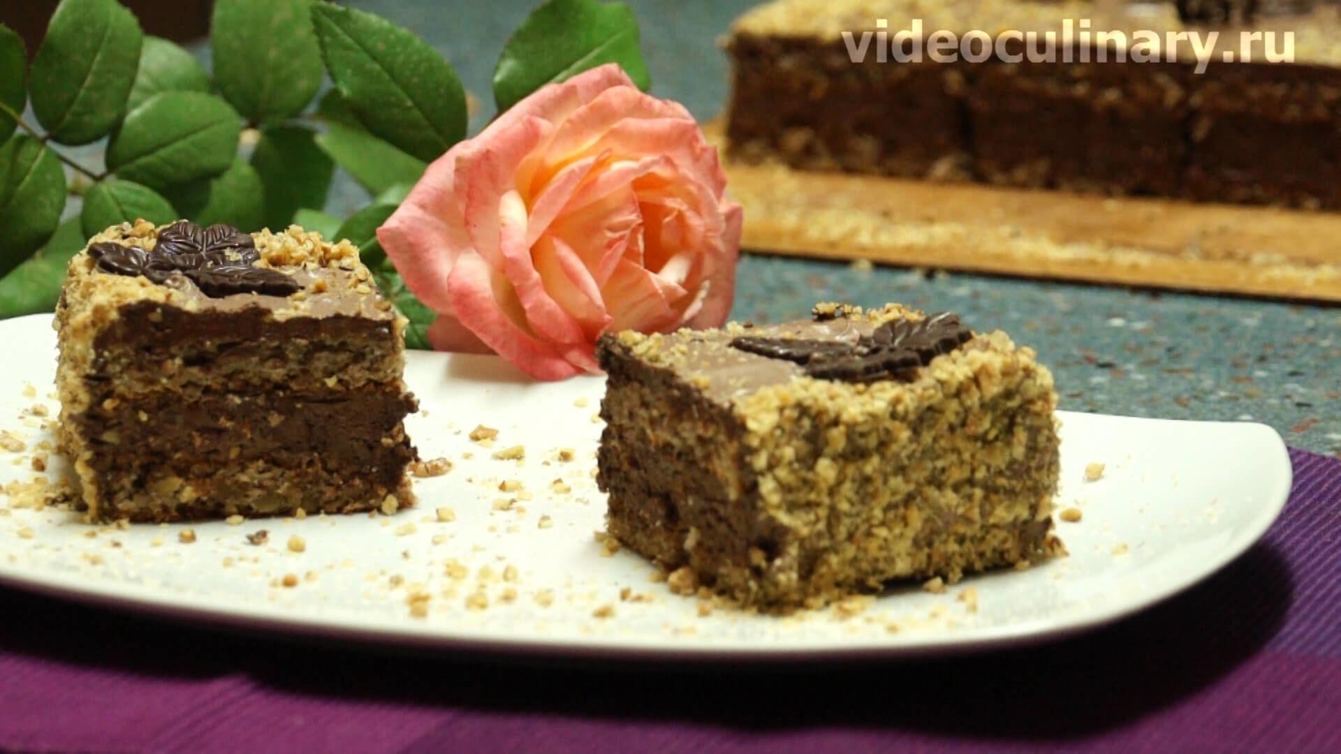 рецепт с фото шоколадного торта