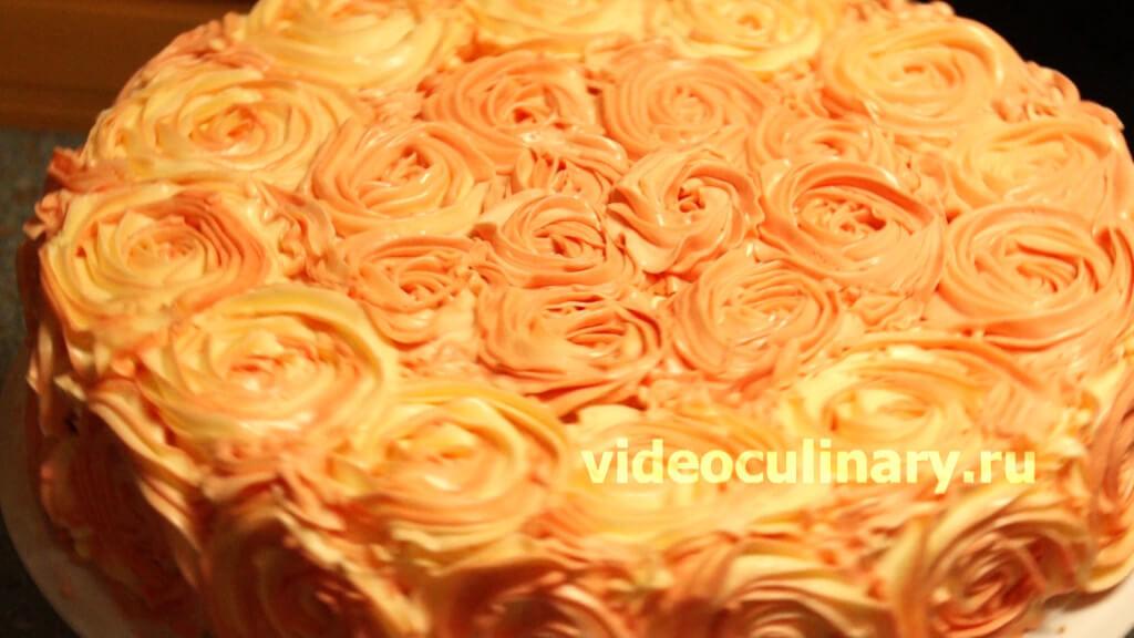 Белковый крем для украшения торта рецепт пошагово повар