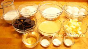 Ингредиенты Торт Птичье молоко на агар-агаре