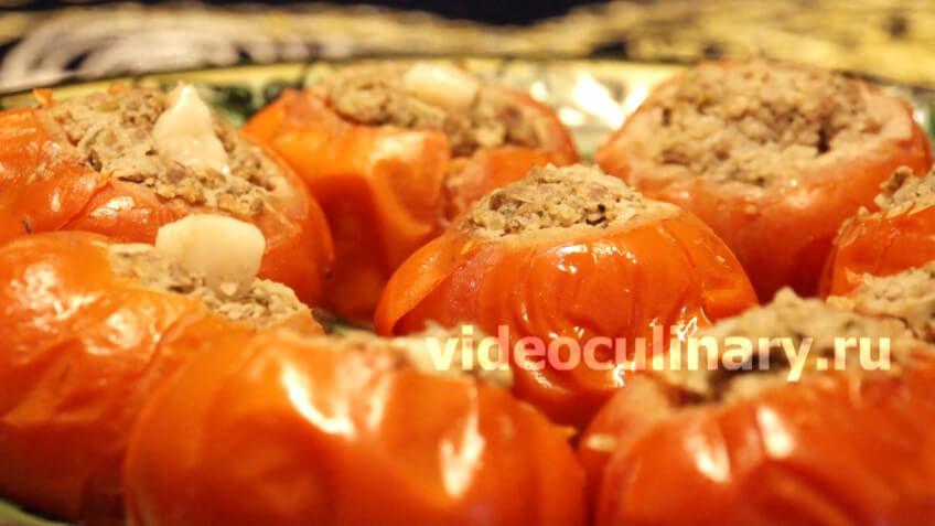Манты из помидоров (помидор манты)