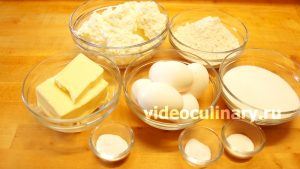 Ингредиенты Творожный кекс