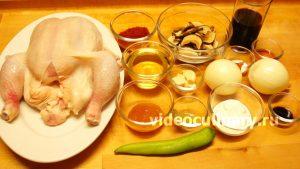 Ингредиенты Курица в пикантном кисло-сладком соусе