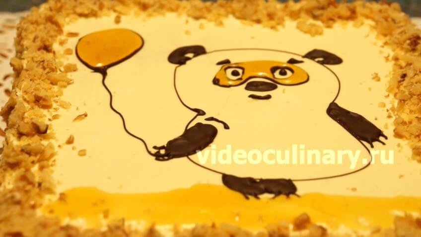 Торт Медовик - Пуховик