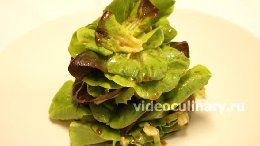 Салат листовой по-королевски