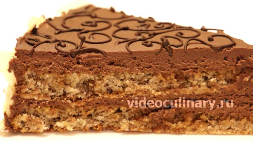 Торт Шоколадное кружево