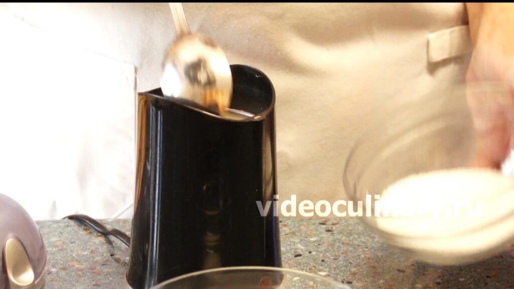 Сахарная пудра в домашних условиях видео