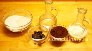 Ингредиенты Зеркальная шоколадная глазурь