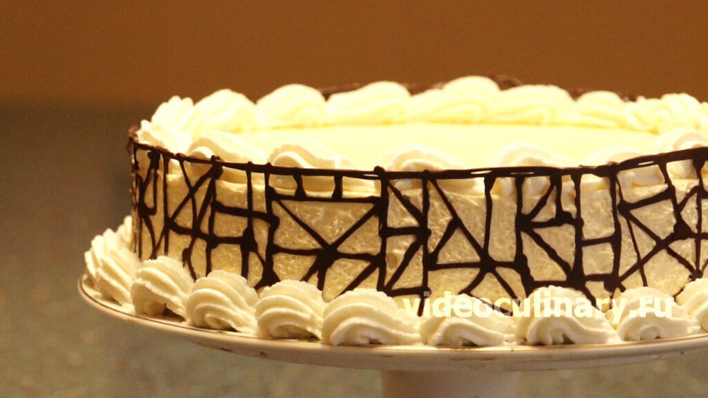 Как сделать шоколадные бока для торта