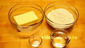 Ингредиенты Тесто для пая (пирога)
