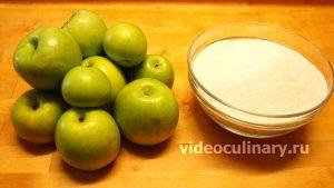 Ингредиенты Яблочное Повидло