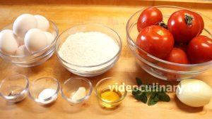 Ингредиенты Лапша домашняя с томатным соусом