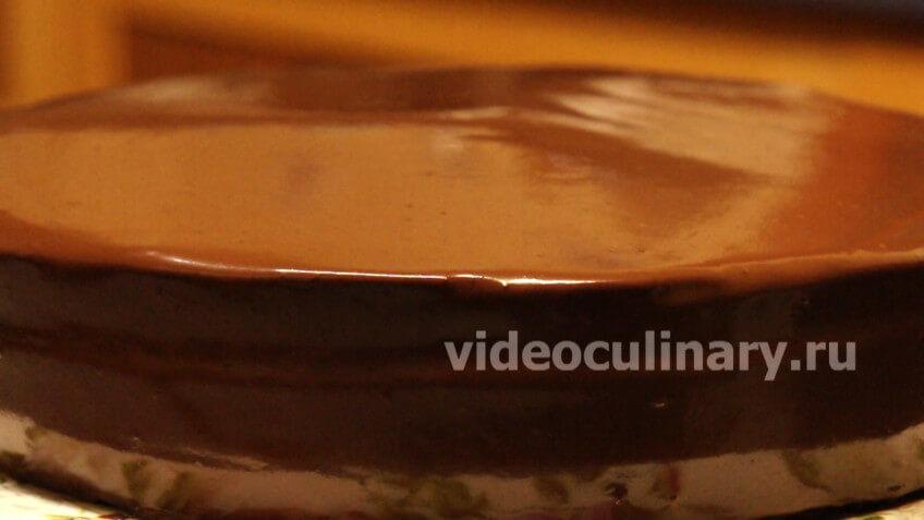 Простая шоколадная глазурь