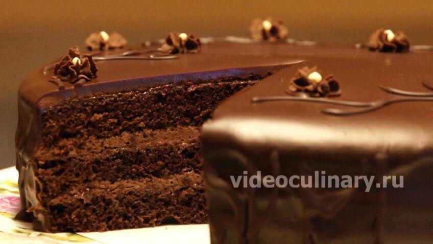 видео бисквитный торт очень вкусный и простой рецепт с фото