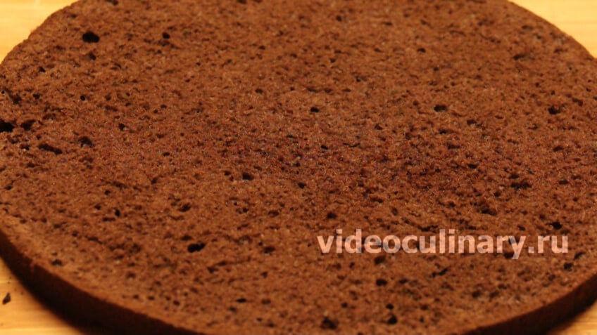 Простой шоколадный бисквит