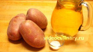 Ингредиенты 4 рецепта картофеля, жаренного во фритюре