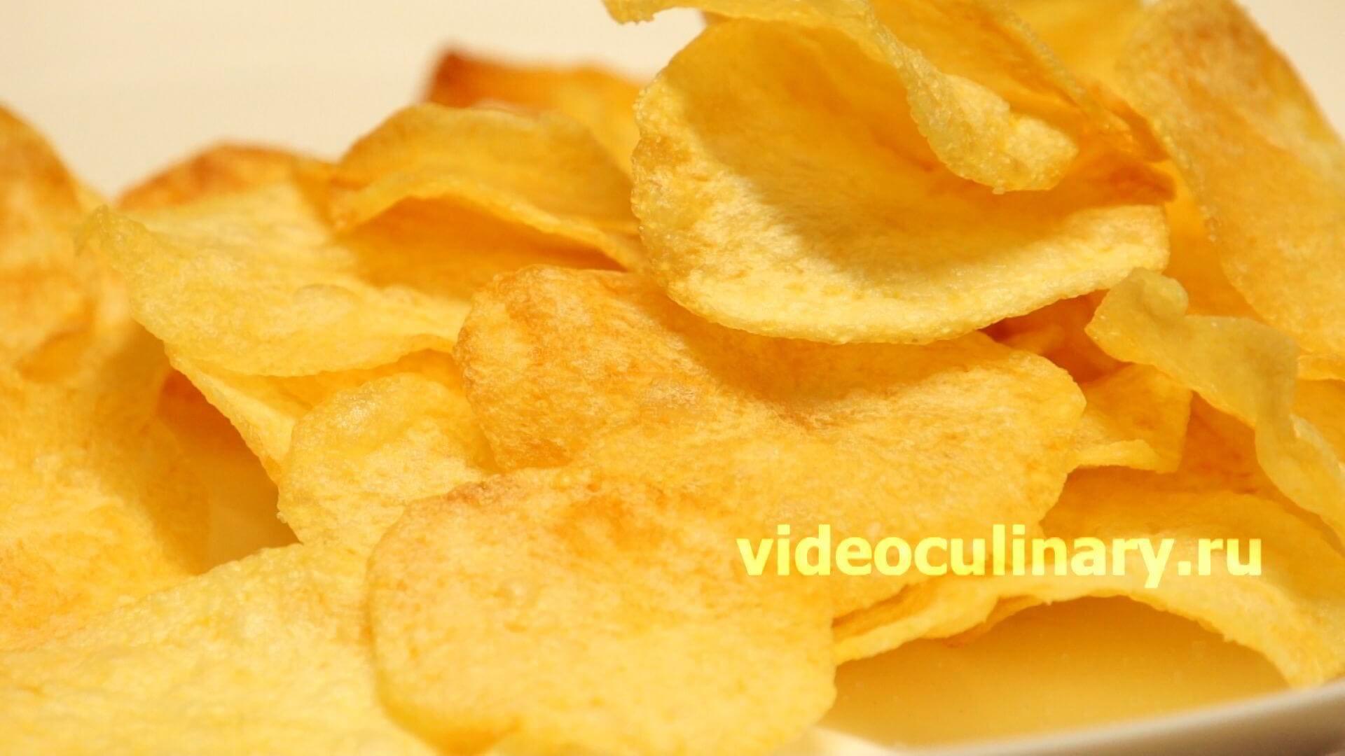 Чипсы картофельные в аэрогриле рецепты