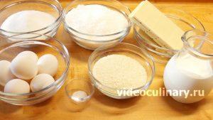Ингредиенты Пирожное Рафаэлло