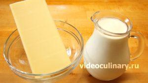 Ингредиенты Белый Сливочный шоколадный Крем (Ганаш)