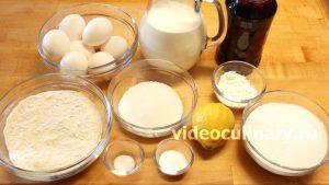Ингредиенты Бисквитный торт Невеста