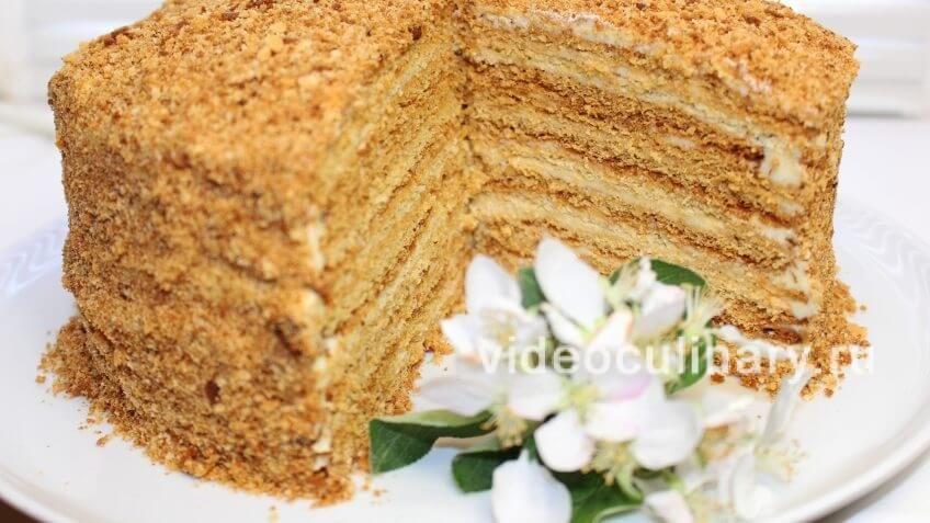Торт Медовик - бюджетный рецепт